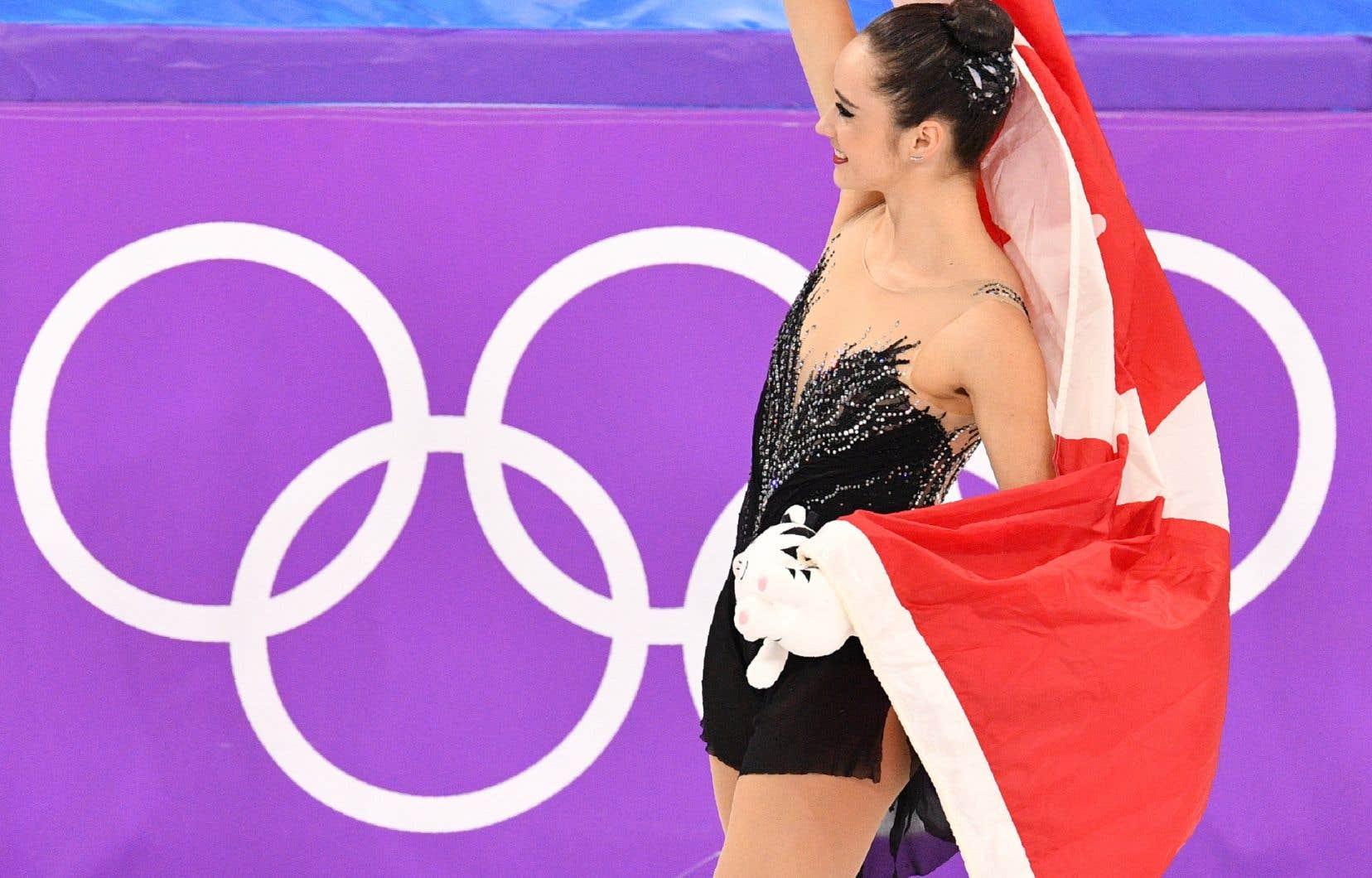 Kaetlyn Osmond remporte la médaille de bronze — Patinage artistique