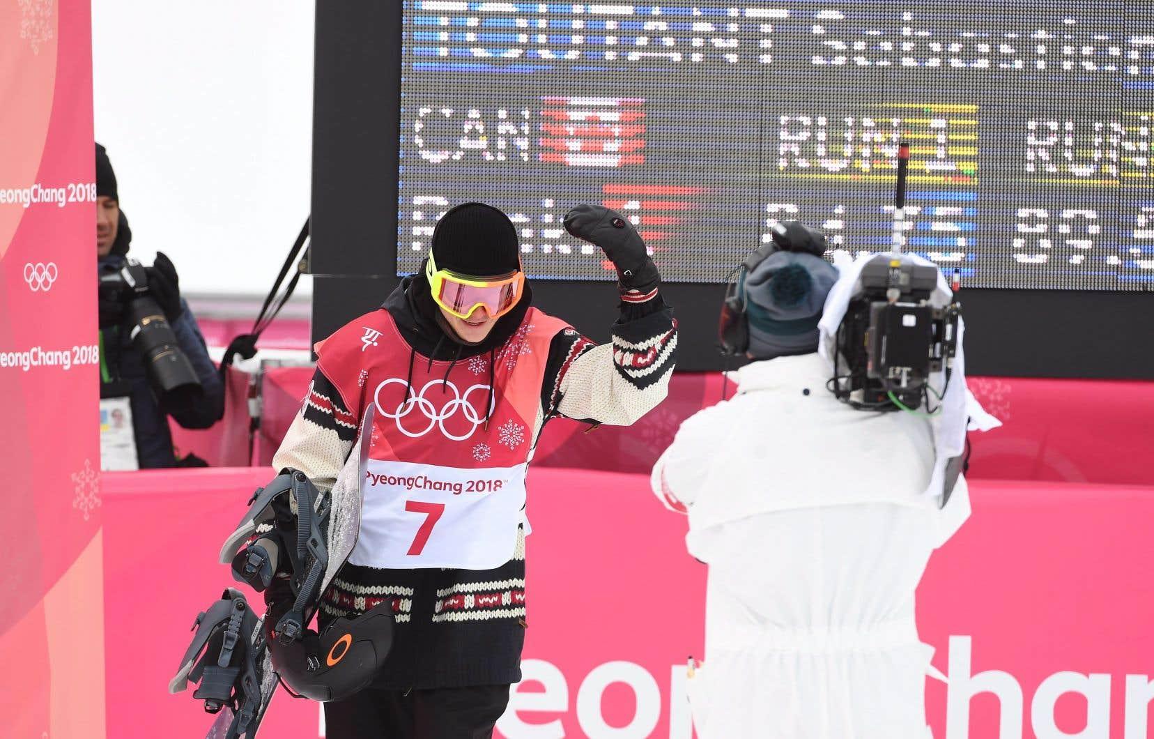 JO 2018:Sébastien Toutant empoche la médaille d'or du Big Air