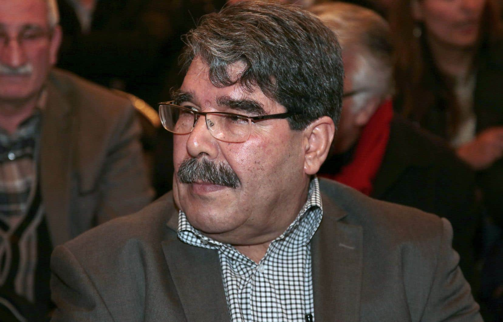 Le dirigeant kurde Saleh Muslim a été interpellé samedi soir dans un hôtel de Prague, en République tchèque.