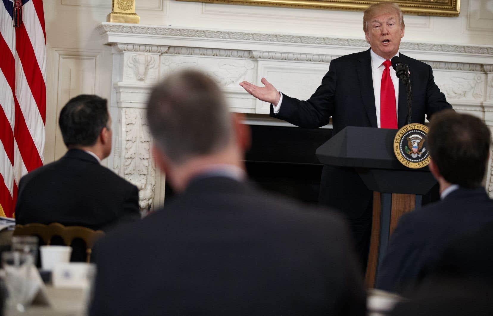 Le rapport annuel, publié la semaine dernière par la Maison-Blanche, réfute un certain nombre de déclarations et de politiques déjà évoquées par le président Donald Trump.