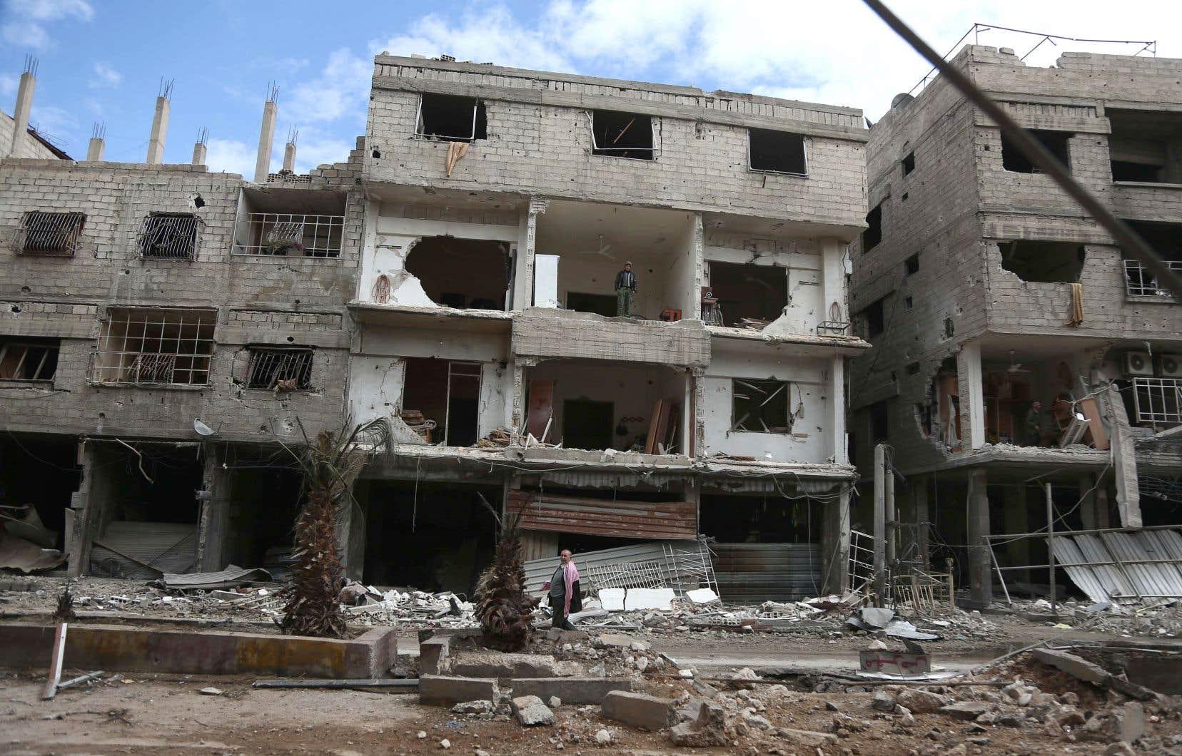 Plus de 700 personnes ont besoin d'une évacuation médicale urgente de ce fief rebelle syrien, selon les Nations unies.