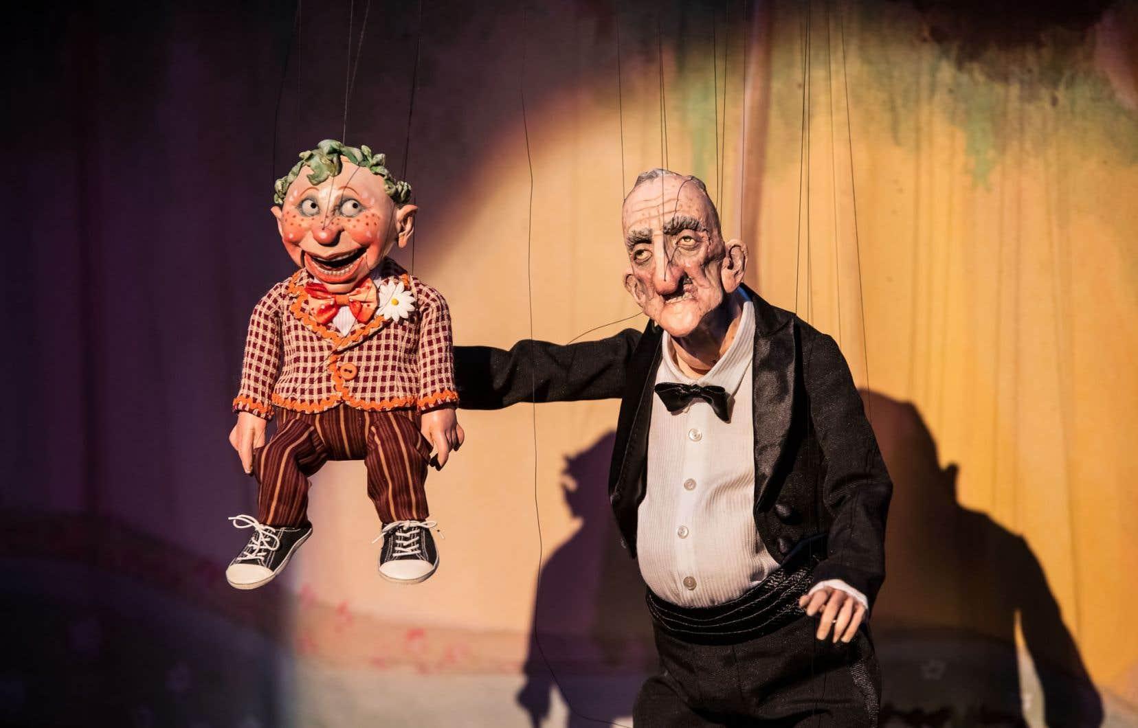 Scène du «Daisy Theatre»