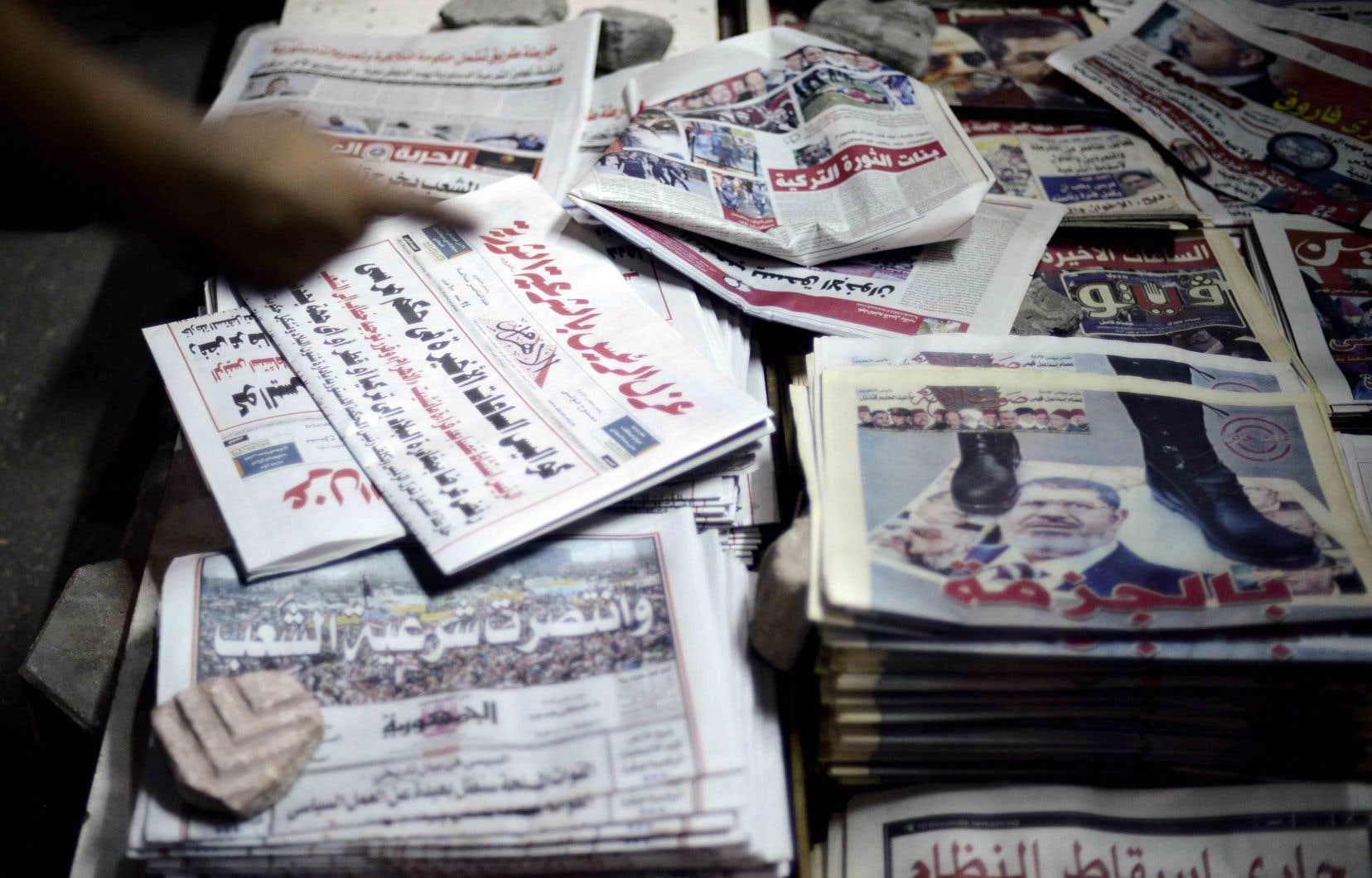 L'Organisme général de l'Information (OGI), qui régule l'activité des médias étrangers en Égypte, se plaint souvent de l'utilisation de sources anonymes.