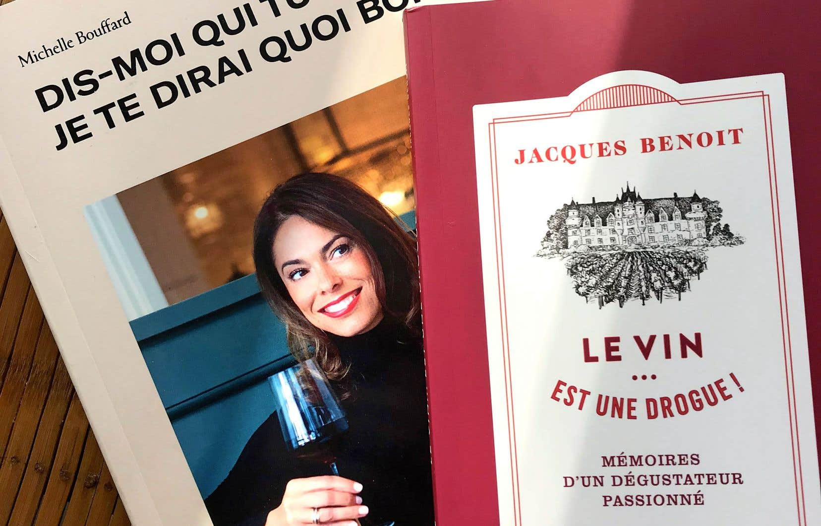 Michelle Bouffard et Jacques Benoit sont deux passionnés de vins qui, chacun à leur façon, prennent le pouls, dans leurs ouvrages respectifs, de la passion des Québécois pour le vin.