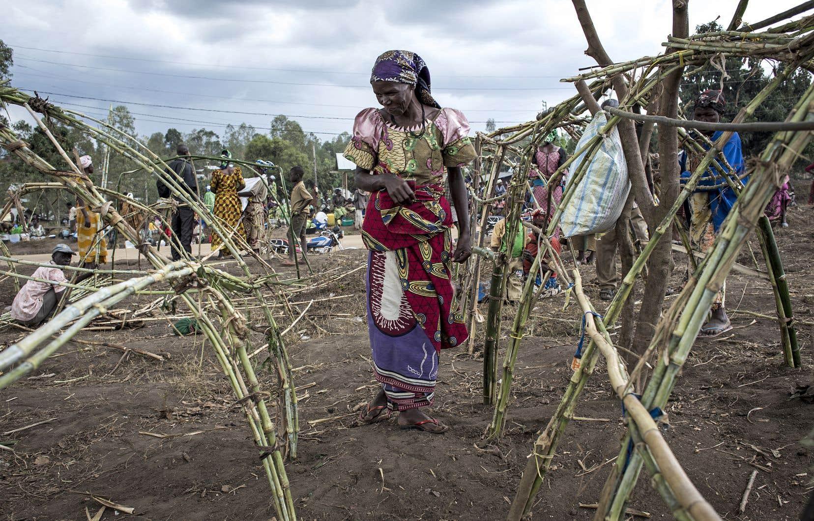 Les violences actuelles en Ituri sont concentrées autour de Djugu, au nord-est de la capitale provinciale Bunia. Elles ont provoqué le déplacement d'environ 200000 personnes depuis décembre.