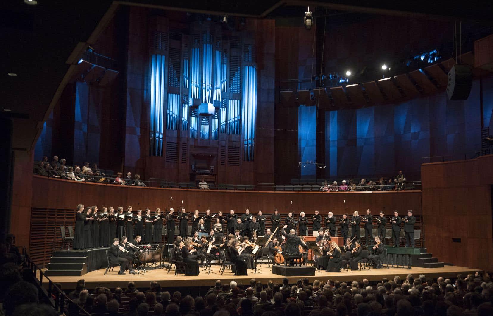 Samedi, Bernard Labadie menait La Chapelle de Québec et Les Violons du Roy aux sommets dans Händel et Haydn.