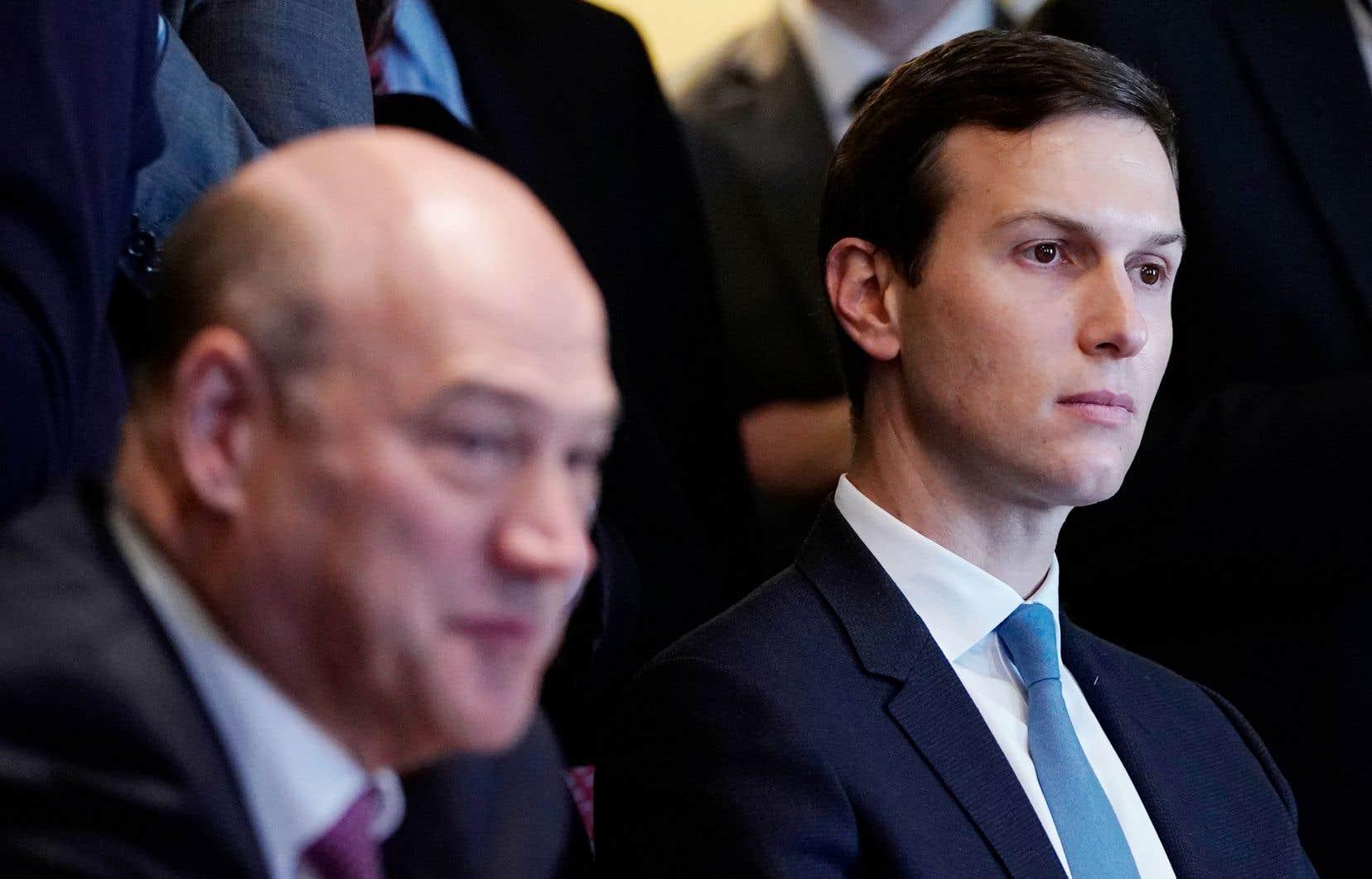 Le gendre du président américain, Jared Kushner, est notamment chargé de trouver une issue au processus de paix israélo-palestinien.