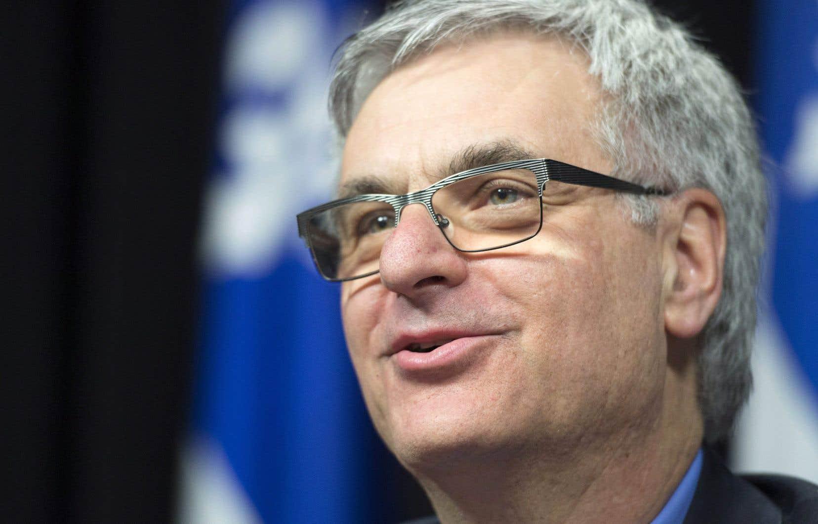 Jean-Marc Fournier a été élu pour la première fois en 1994 dans Châteauguay.