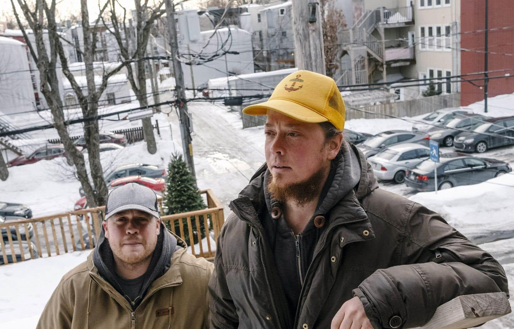 Les frères Jonathan et Jean-Laurence Seaborn ont réalisé ensemble le documentaire «Bras de fer».
