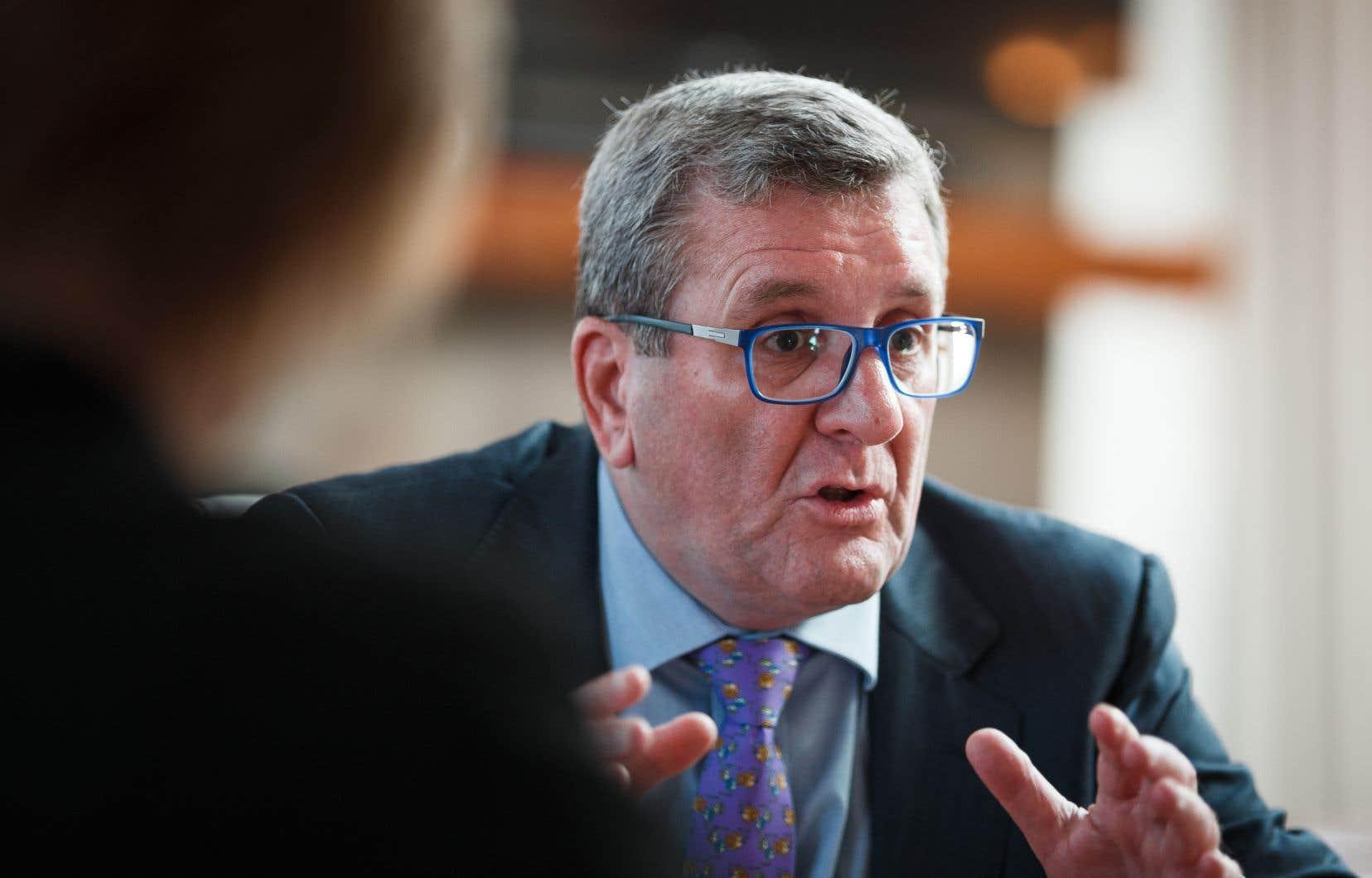 Le maire de Québec, Régis Labeaume, en septembre dernier