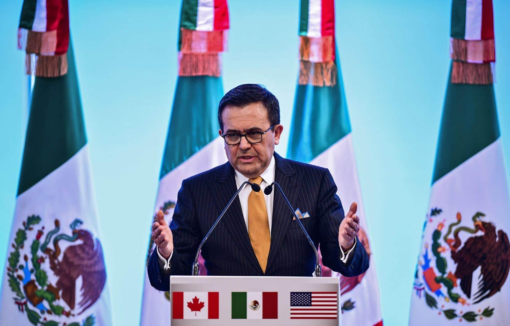 Le ministre mexicain de l'Économie, Ildefonso Guajardo