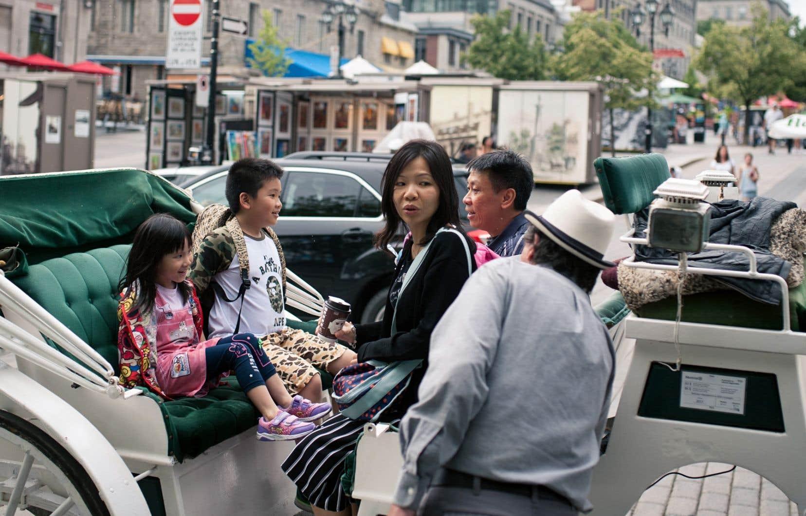 Le tourisme international a poursuivi sa croissance, avec une augmentation de 11% des arrivées de touristes en provenance d'outremer.