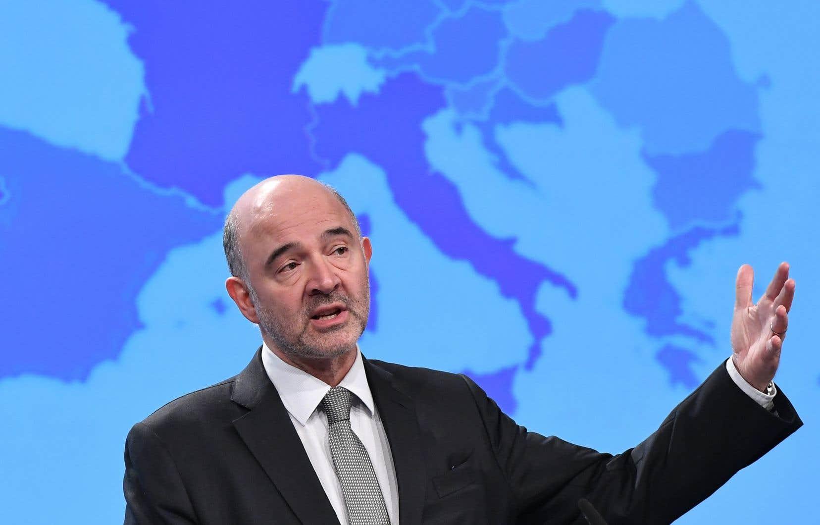 «Nous devons faire en sorte qu'une fiscalité équitable devienne la règle sans exception», a plaidé lecommissaire européen à la Fiscalité, Pierre Moscovici.