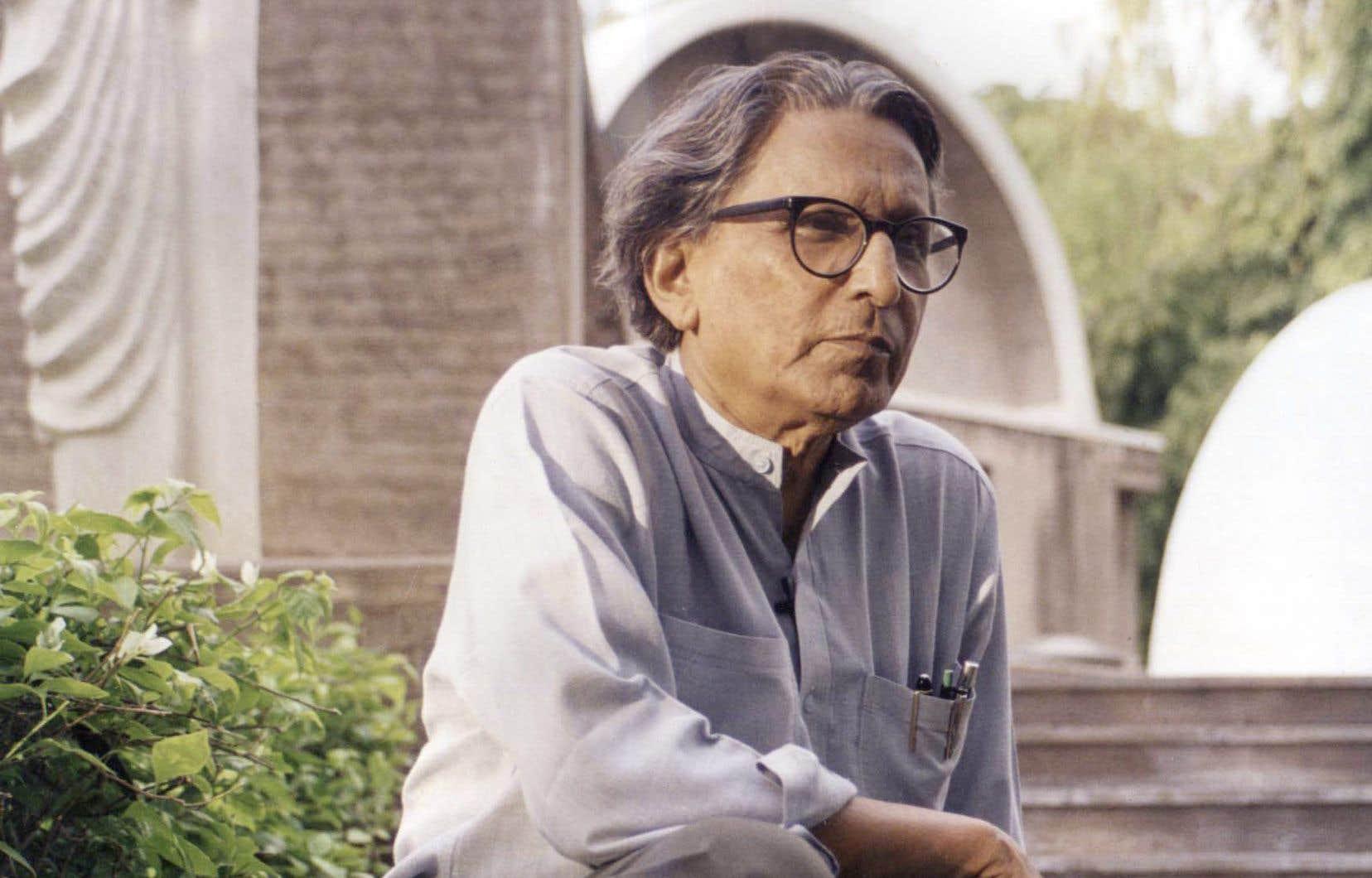 L'architecte indien Balkrishna Doshi