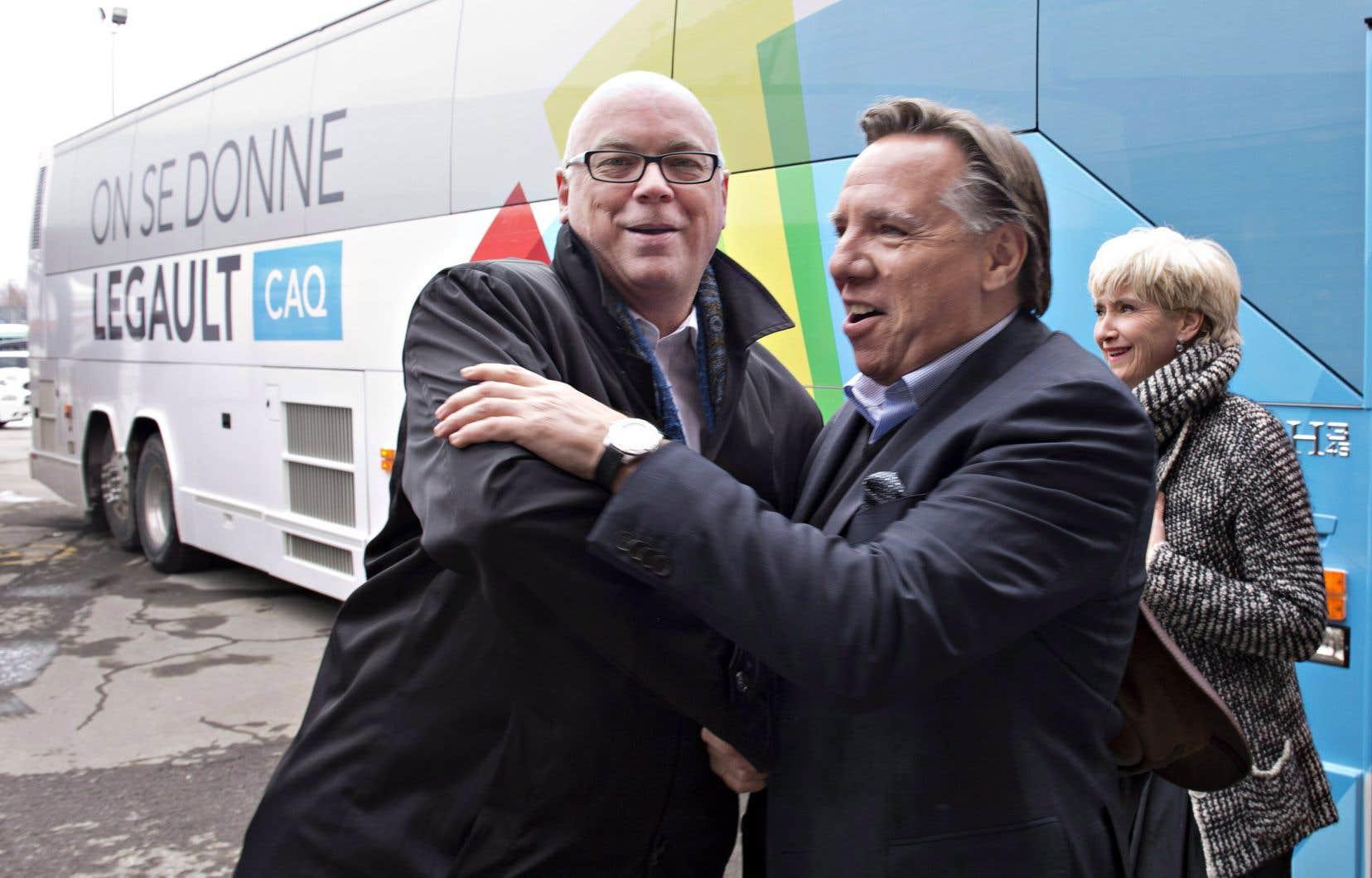 Mario Asselin tentera pour une troisième fois de se faire élire sous la bannière de la Coalition avenir Québec, dans la circonscription de Vanier–Les Rivières cette fois.