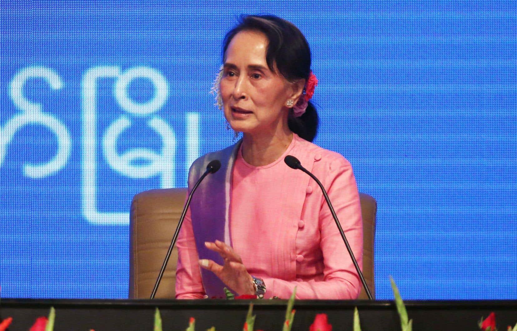 La dirigeante myanmaraise Aung San Suu Kyi est pointée du doigt pour son manque de compassion à l'égard des Rohingyas.