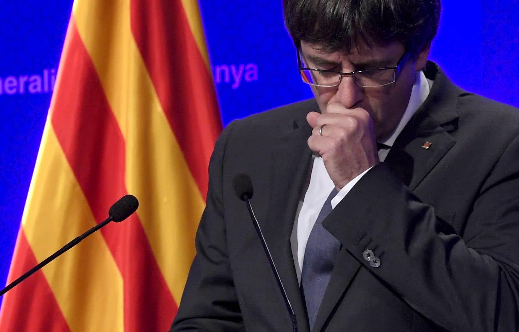 Le candidat à la présidence Jordi Sànchez maintenu en détention — Catalogne