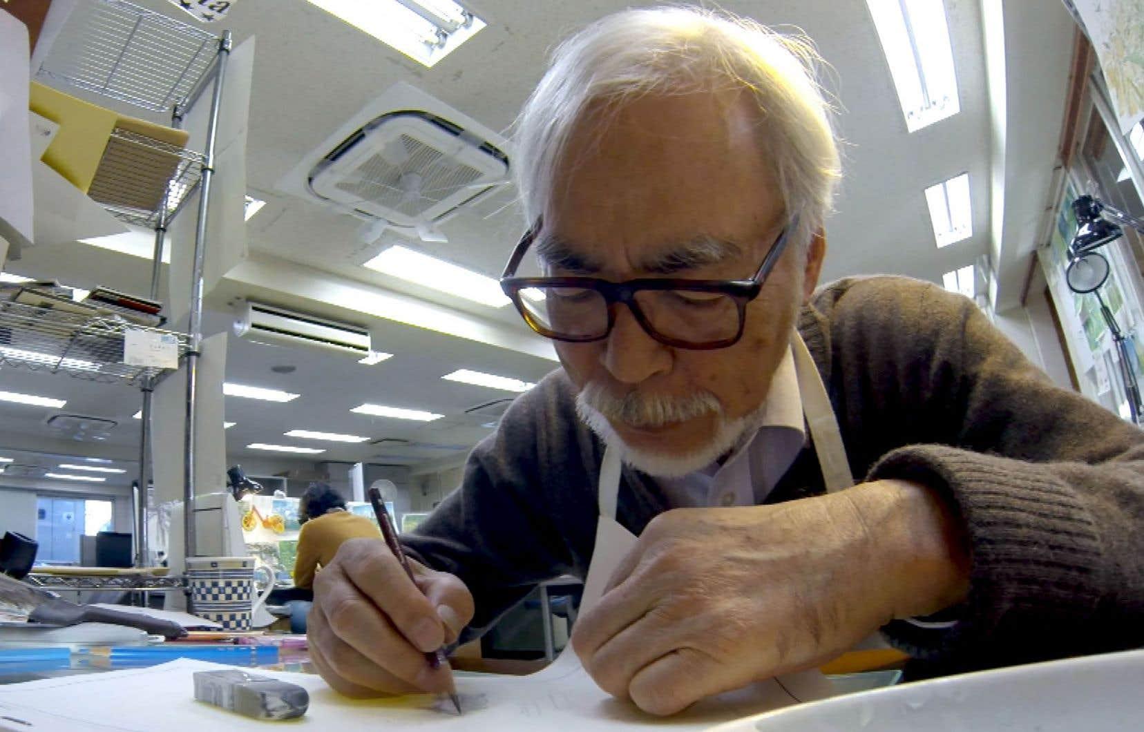 Le dessinateur Hayao Miyazaki a pris sa retraite en 2013.