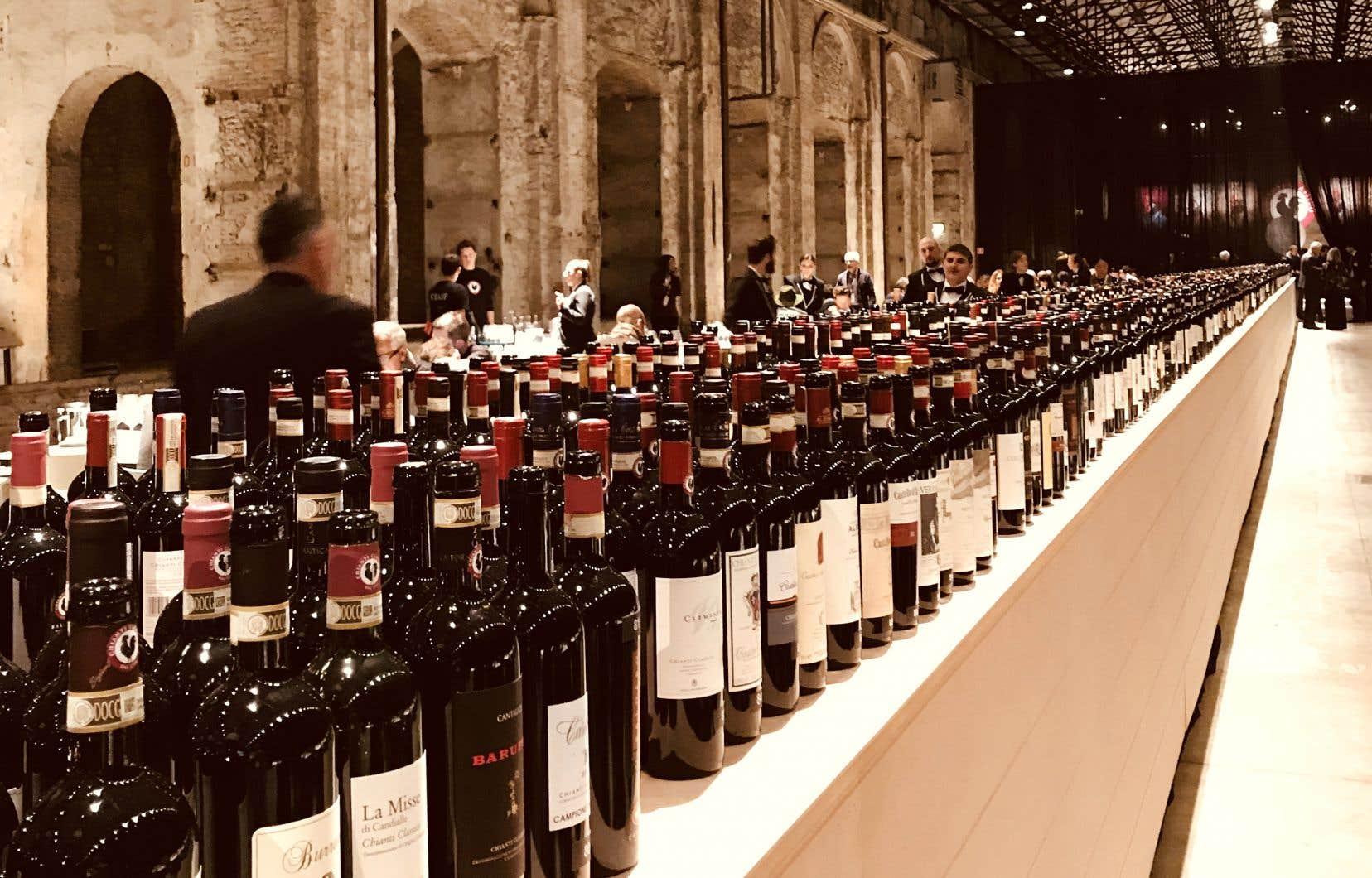 Anteprime 2018 en Toscane du côté de l'appellation Chianti Classico: pas moins de 436 cuvées à base de sangiovese soumises à la dégustation!