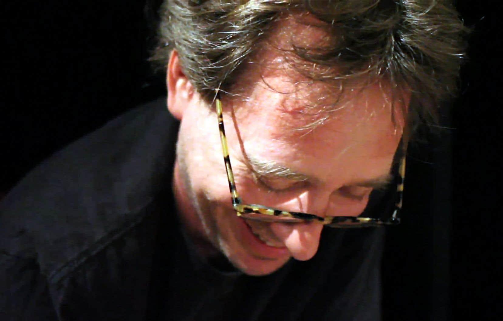 Le réalisateur Mathieu Amalric et le compositeur John Zorn (sur la photo) sont amis depuis une dizaine d'années.