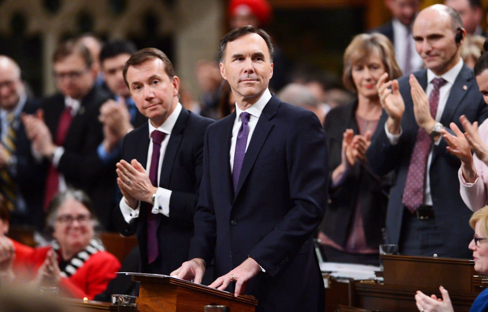 Le ministre Bill Morneau