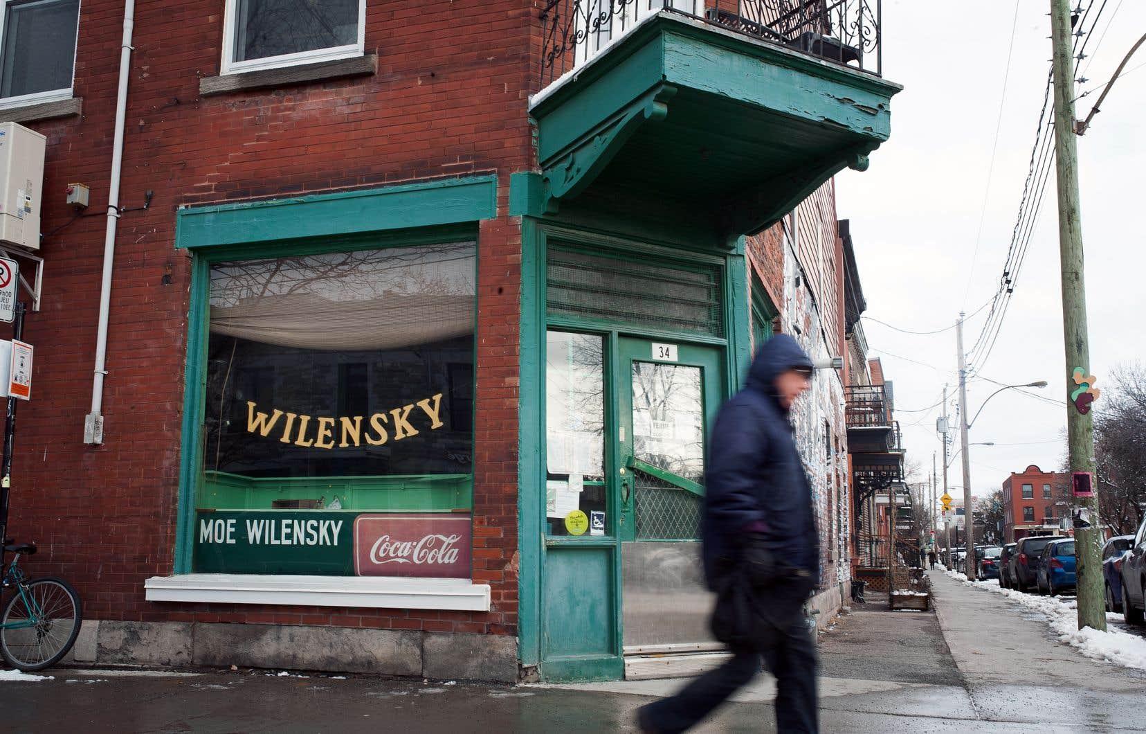 Le restaurant Wilensky est à son emplacement actuel depuis 1952.