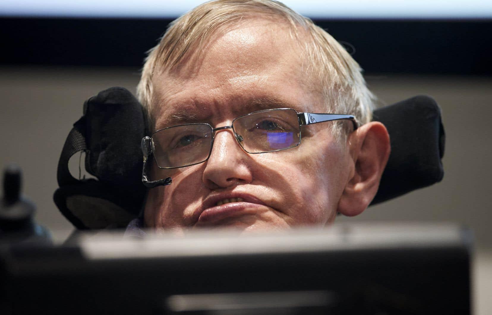 L'astrophysicien britannique Stephen Hawking