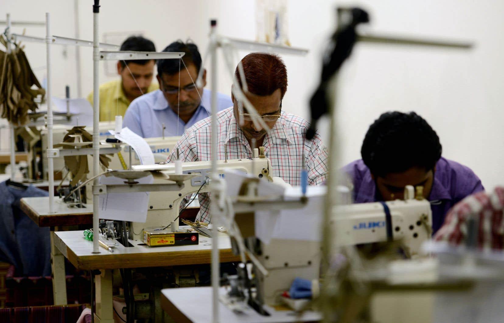 Si la plainte vise particulièrement les exportations informatiques, le secteur du textile et de l'habillement est également ciblé.