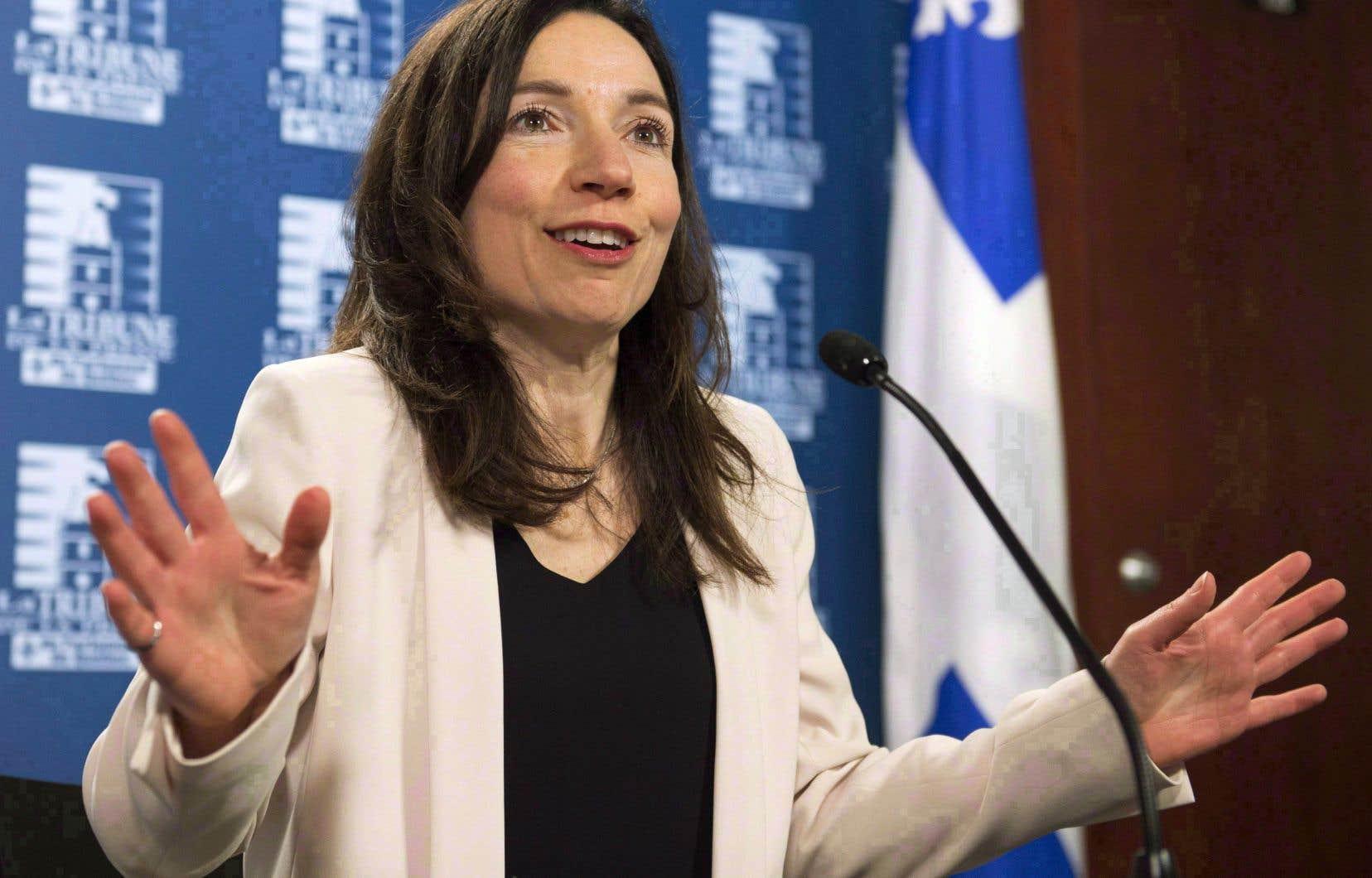 D'anciens chefs du Bloc québécois réclament le départ de la chef Martine Ouellet.