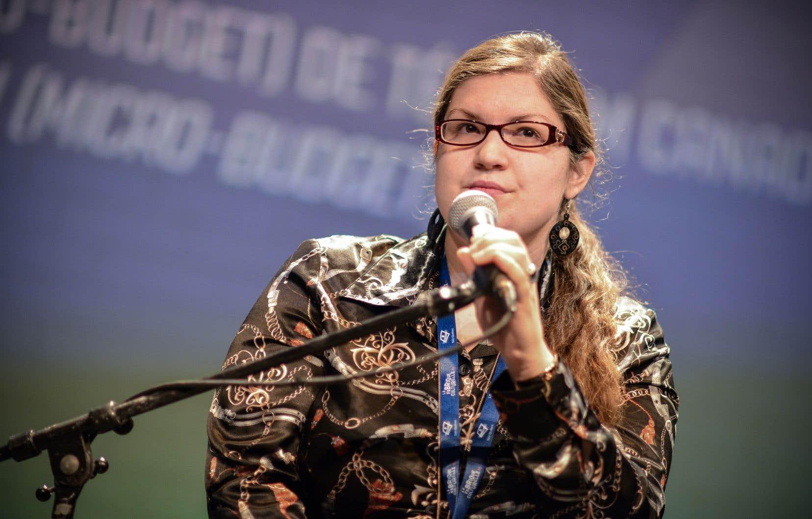 «Le microbudget, ça représente beaucoup de rires et beaucoup de larmes», résume la productrice Katerine Lefrançois dans la foulée du succès du film «Les faux tatouages».
