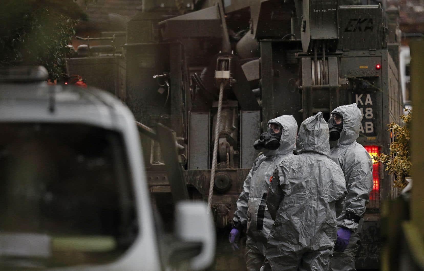 Le 7mars, la police a révélé que Sergueï Skripal et sa fille ont été empoisonnés par un agent innervant, une arme chimique hautement toxique.