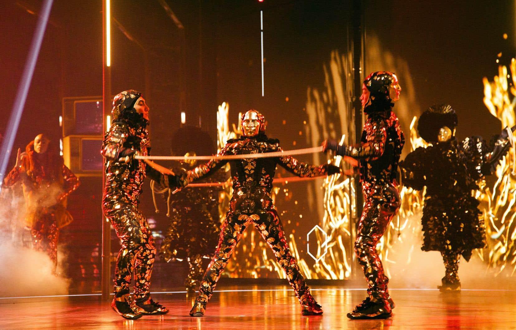Représentation du spectacle «Volta» du Cirque du Soleil à Montréal en avril dernier