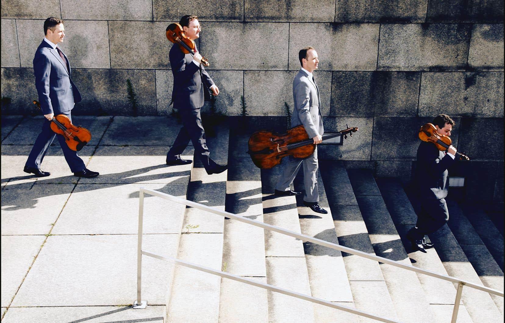 Avec les quatre musiciens du Quatuor de Jérusalem, tout est pensé; tout est précieux.
