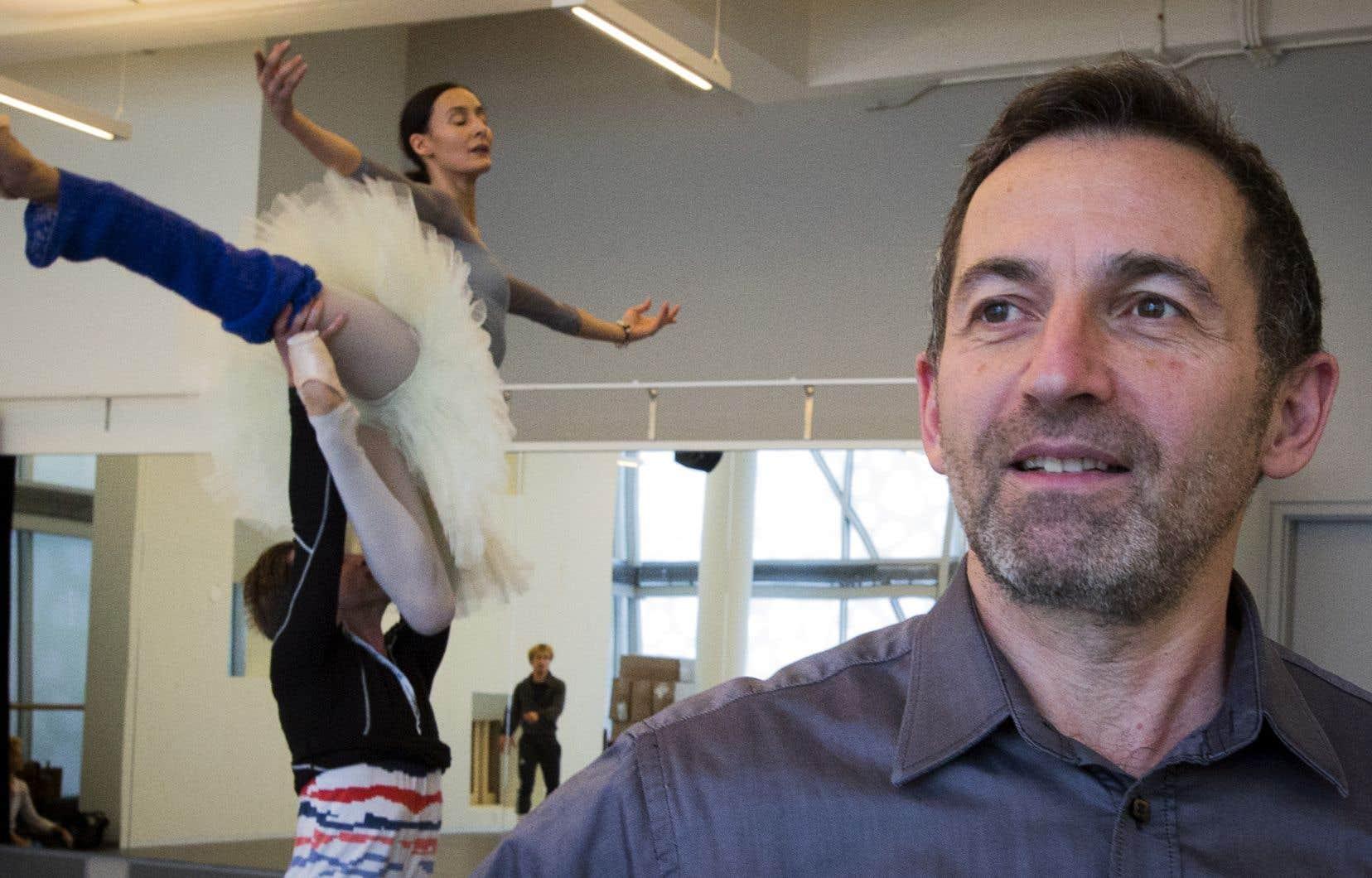 La marque d'Alain Dancyger, qui a travaillé pendant deux décennies aux Grands Ballets canadiens, sera peut-être d'avoir pensé autrement le développement philanthropique.