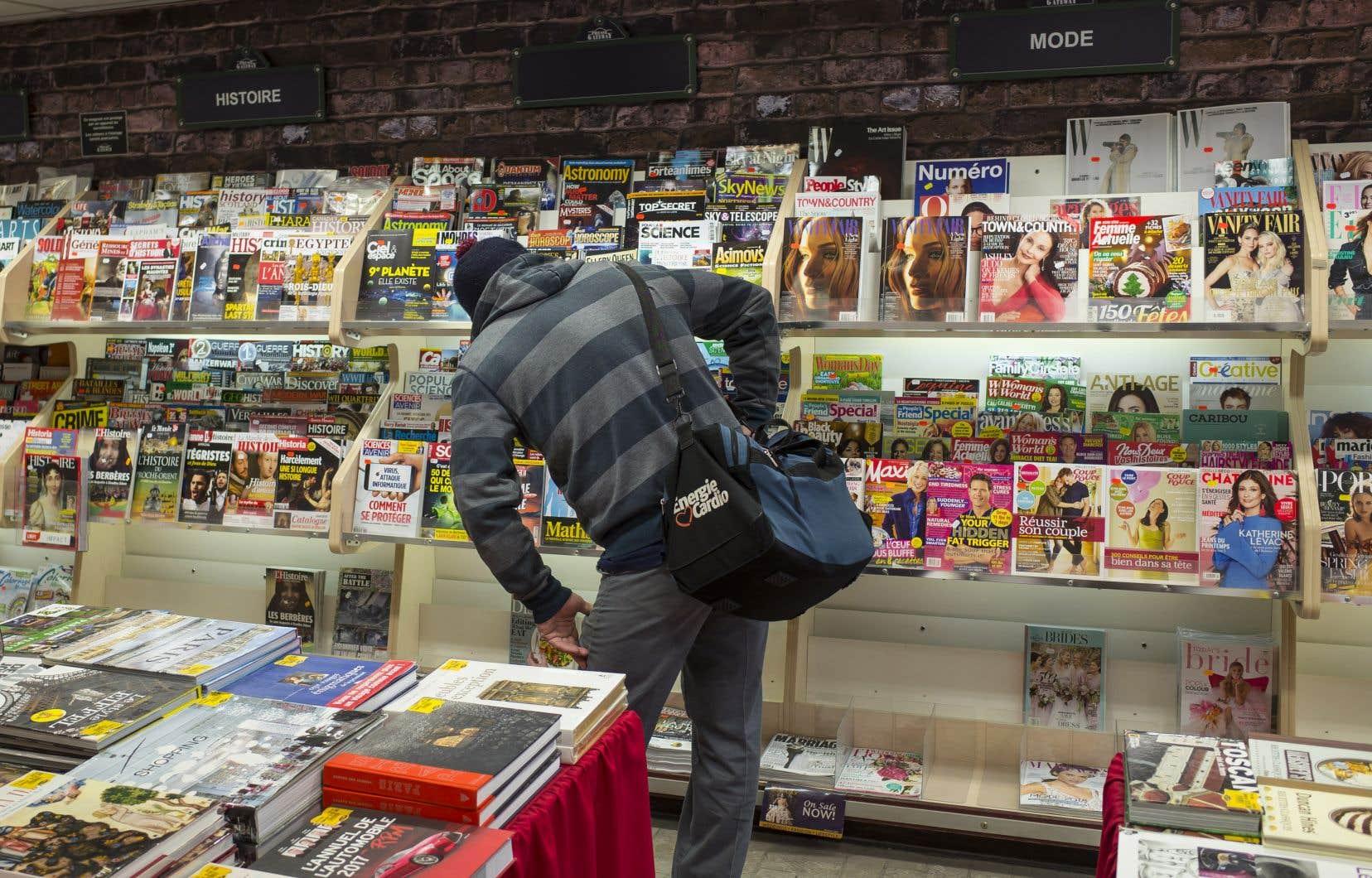 Pour l'heure, le monde du magazine est financé par le gouvernement fédéral, par l'entremise du Fonds du Canada.