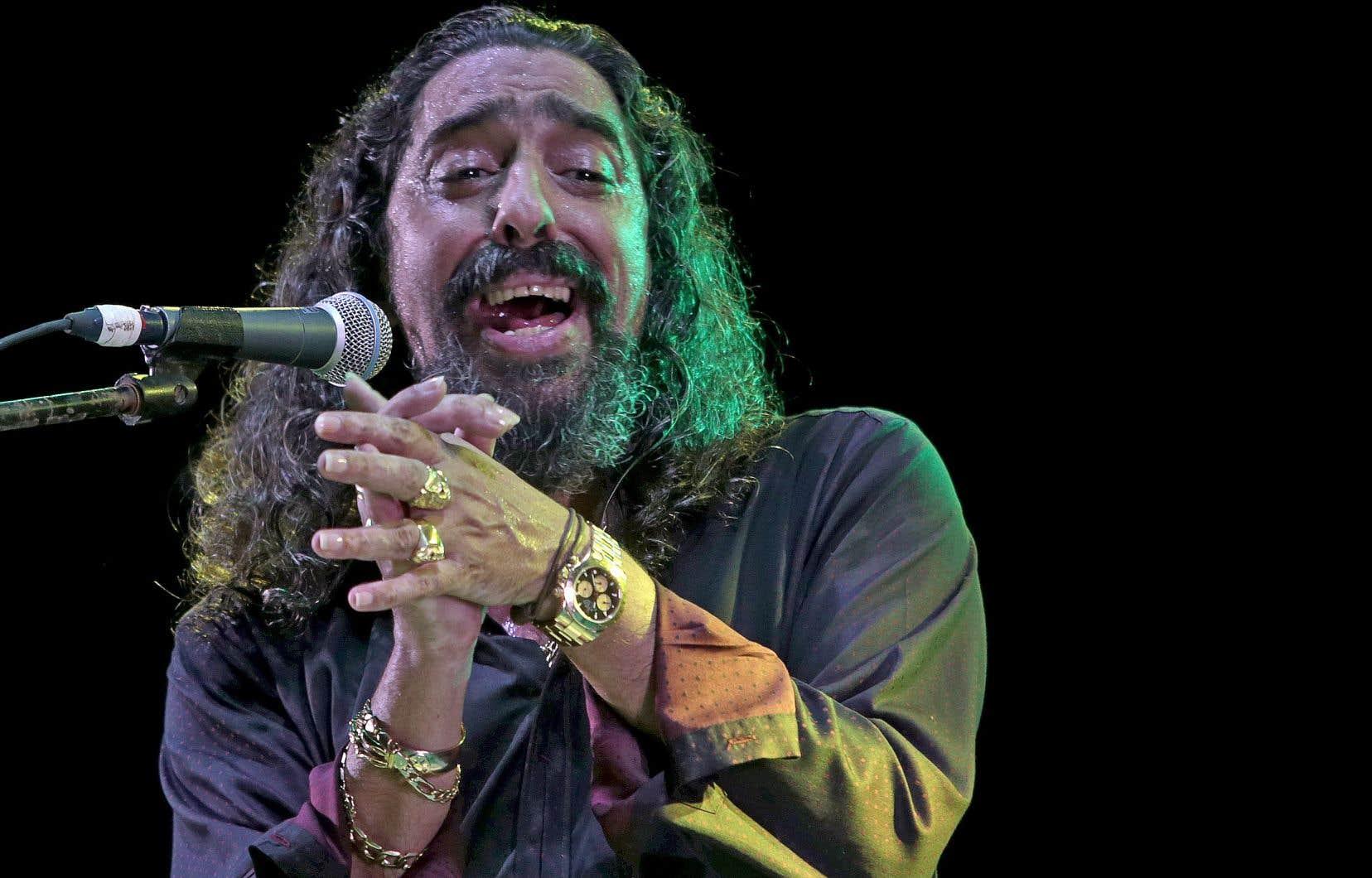 «L'importance du flamenco dans ce que je fais? Tout. C'est tout ce que je fais et tout ce que je vois. Je viens de ce monde-là», répond le chanteurde flamenco Diego El Cigala.
