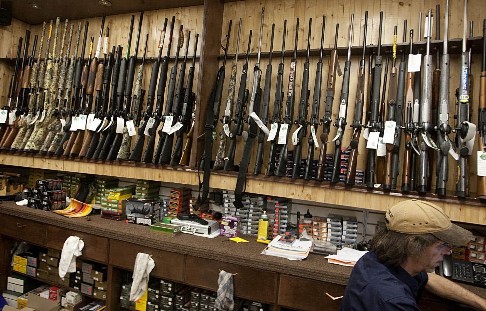 Le projet de loi permet notamment aux autorités de fouiller tout le passé du demandeur pour déterminer si une personne est admissible à un permis d'armes à feu.