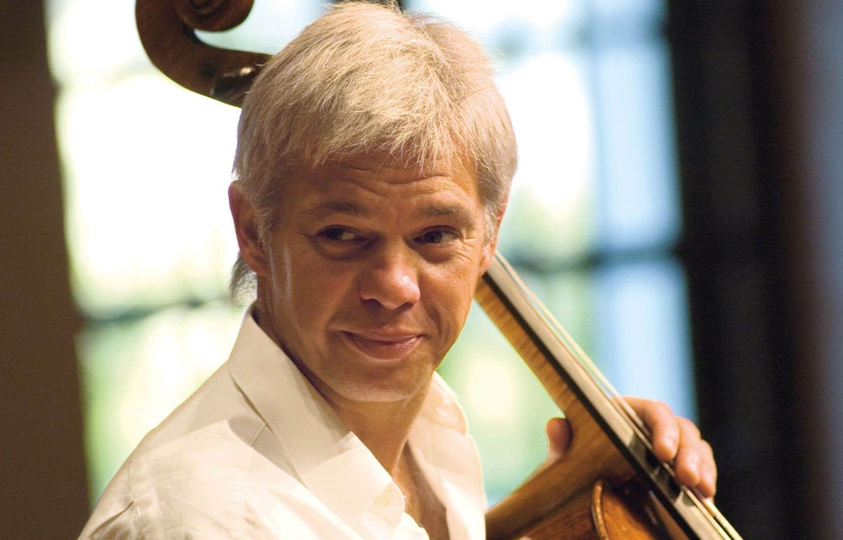 Le violoncellisteClemens Hagen