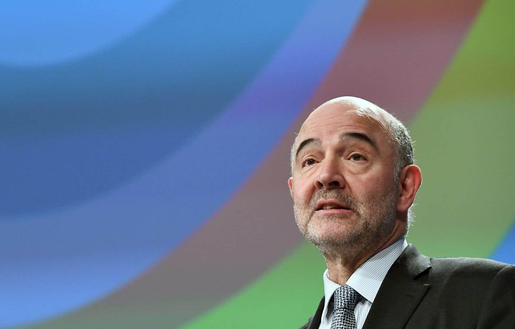 Le commissaire européen aux Affaires économiques, Pierre Moscovici, a dénoncé un «trou noir» fiscal «qui s'agrandit toujours plus».