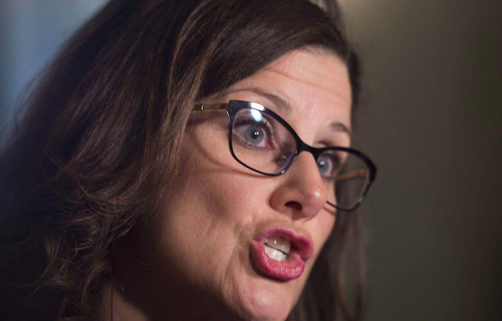 «On n'en est pas là pour le moment», a affirmé la ministre québécoise de la Justice, Stéphanie Vallée, mercredi.