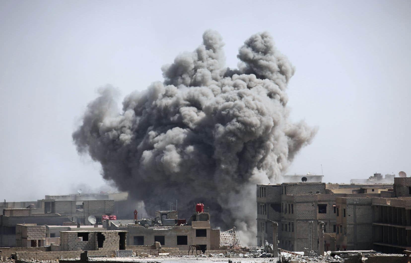 L'accord, passé avec le régime et négocié par son indéfectible allié russe, intervient alors que les territoires rebelles dans la Ghouta orientale ont été laminés.