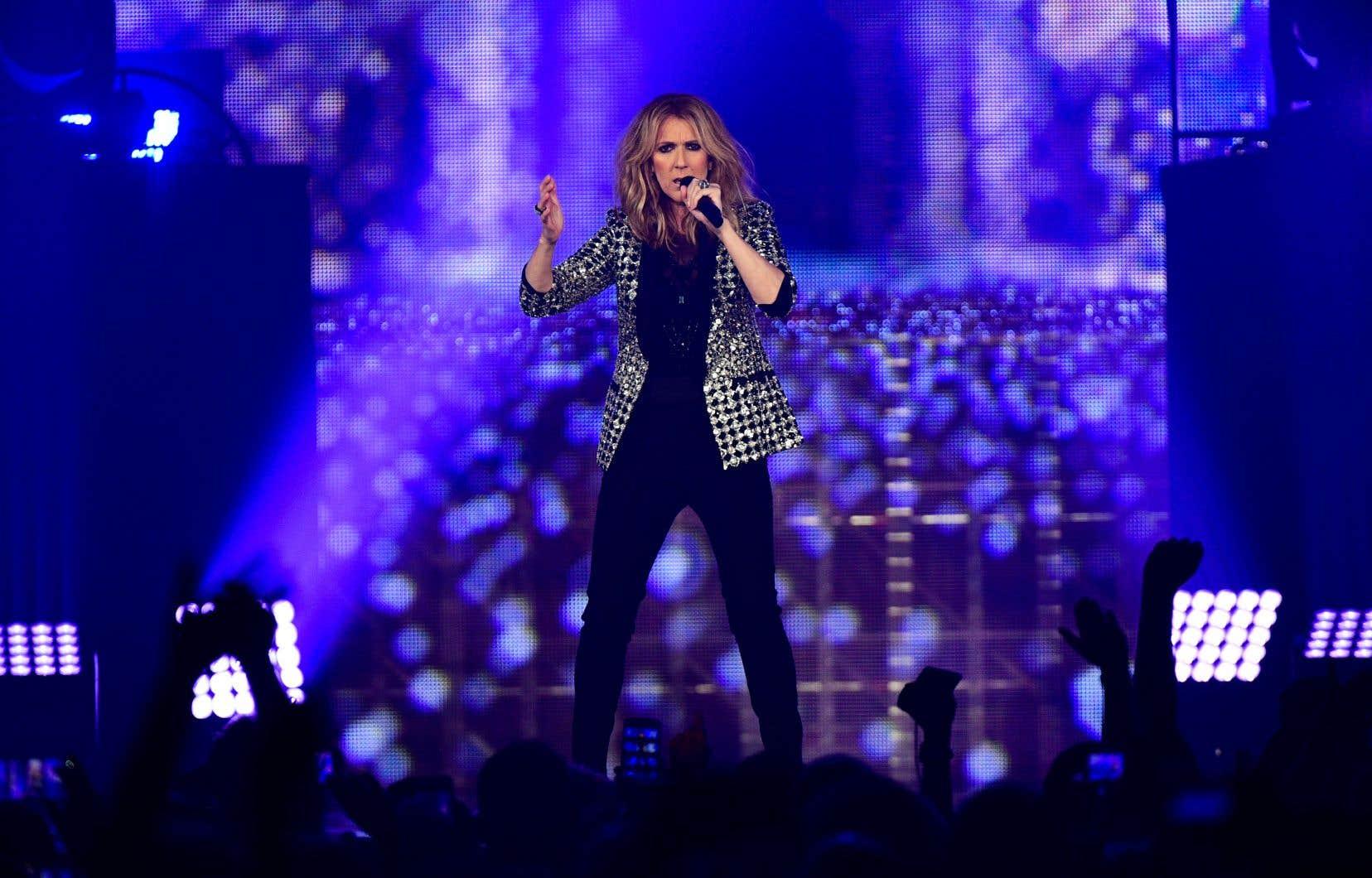Céline Dion, à Paris, en juillet dernier