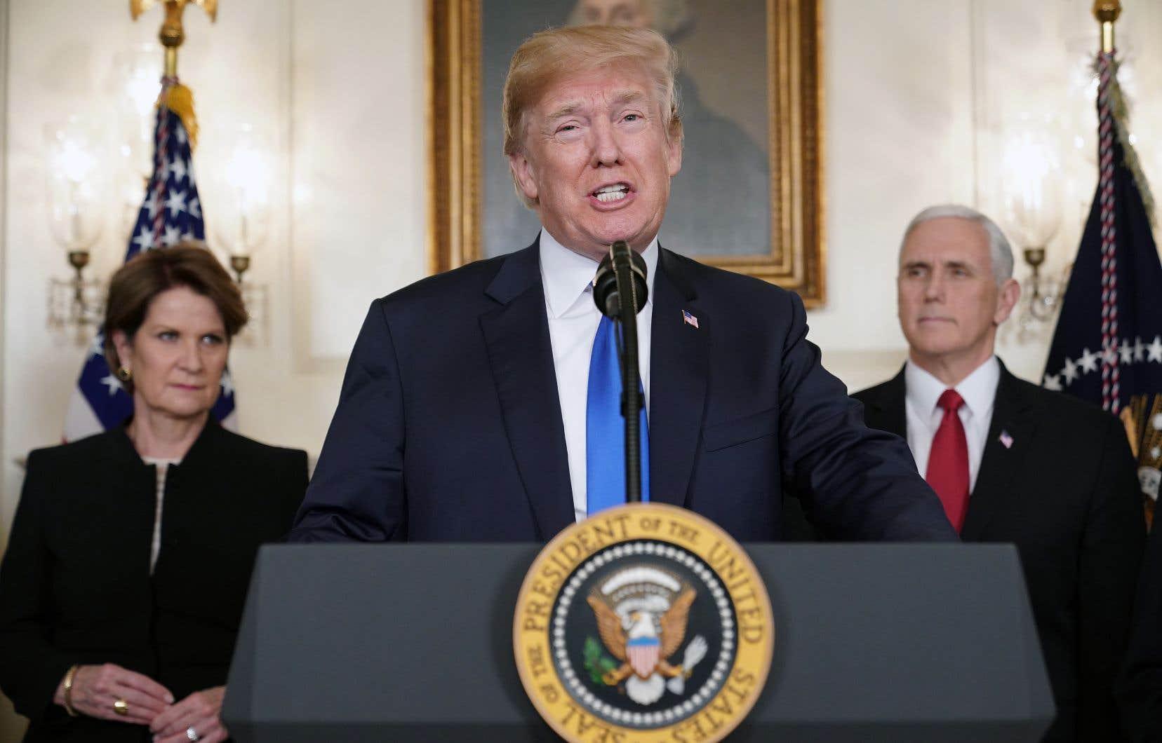 L'annonce de Donald Trump pourrait conduire à une guerre commerciale, Pékin ayant d'ores et déjà annoncé qu'il ne resterait «pas les bras croisés».