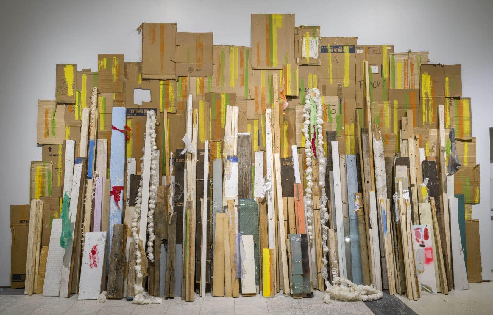 L'installation «Ruines achevées» (2018) de Serge Murphy.