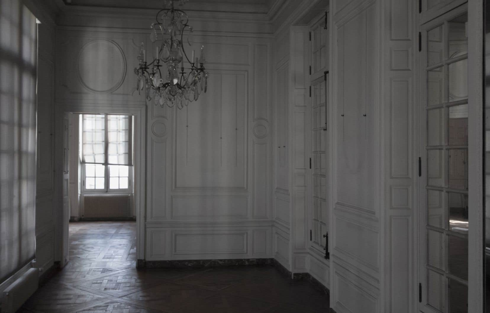 «White Room», de la série Musée Carnavalet, Angela Grauerholz, 2018