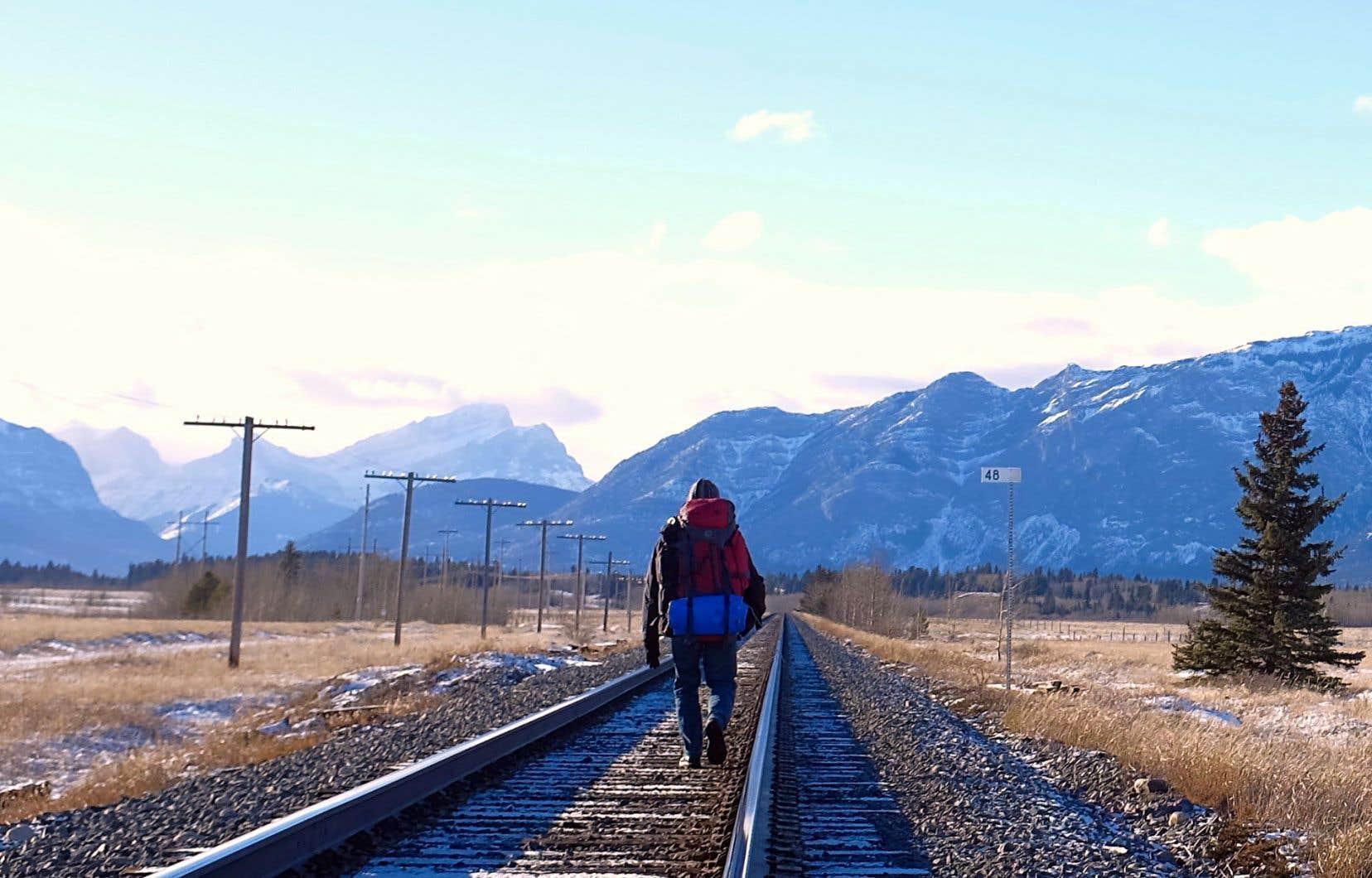 Pascal au pays de Kananaskis, en Alberta