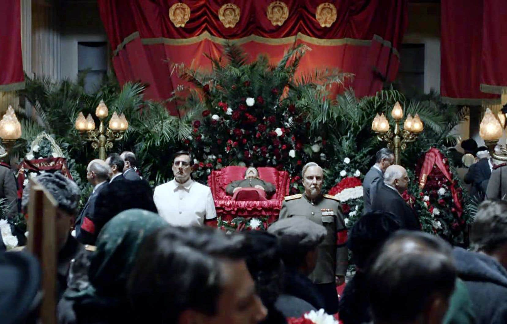 Tout du long, «La mort de Staline» enchante et consterne.