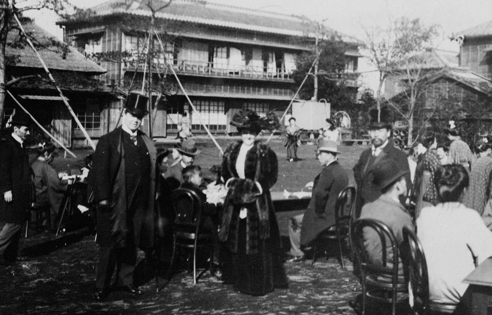 Rodolphe Lemieux et son épouse à Tokyo en 1907
