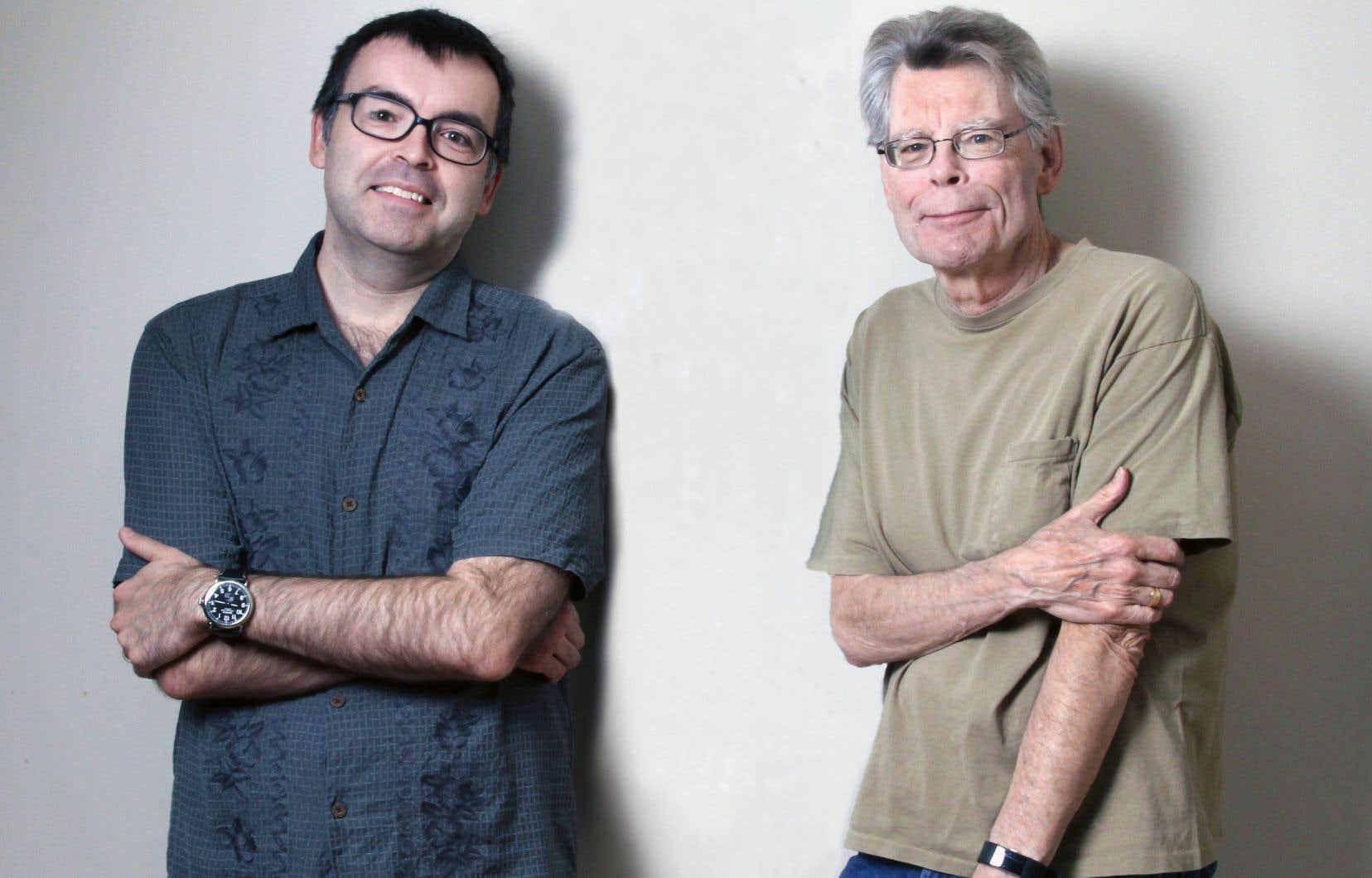 Durant dix mois, Owen et Stephen King se sont plongés dans l'écriture, le premier envoyant une partie du récit que le second réécrivait et continuait, puis renvoyait au premier qui répétait l'exercice.
