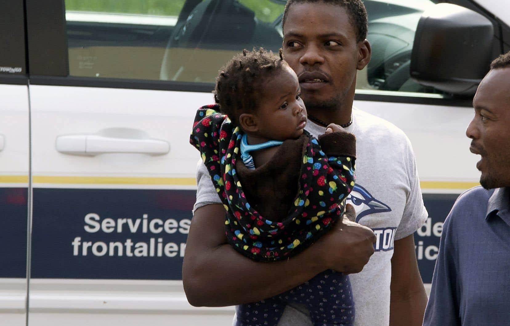 Le Québec a reçu près de 25000 demandeurs d'asile en 2017, selon le gouvernement québécois.